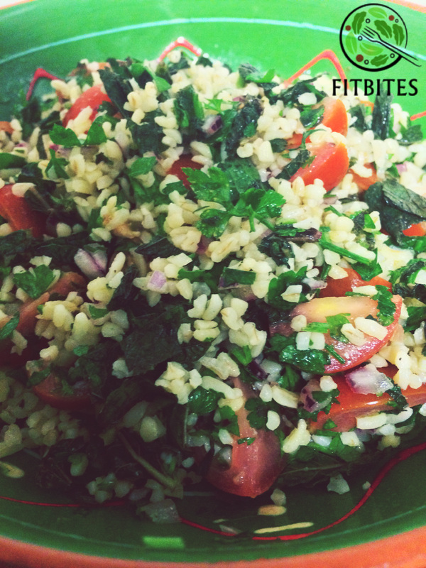 healthy delicious tabbouleh